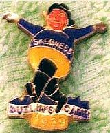 Reproduction 1939 Skegness Badge